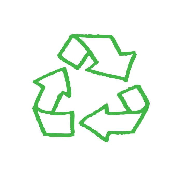 Recycling-Grafik